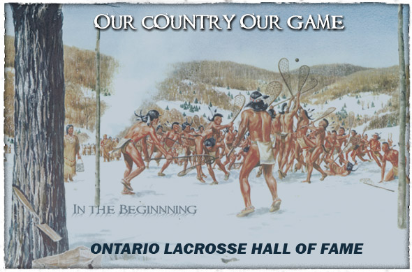 Logo for Ontario Lacrosse Hall Of Fame